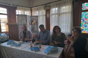 Παρουσίαση βιβλίου ΚΟΜΠΟΣ ΥΦΑΛΟΥ του Πάνου Γιάκα