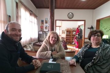 Επίσκεψη της συμβούλου ΠΕ κυρίας Νίκης Καρατζιούλα