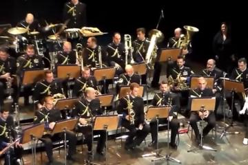 Χώρος Τεχνών συναυλία μπάντας πολεμικού Ναυτικού ΚΕΜΑΕΔ