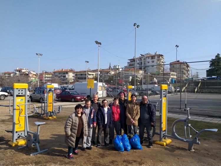 Δράση: καθαρίζουμε και γυμναζόμαστε στην πόλη μας (φωτογραφικό υλικό)