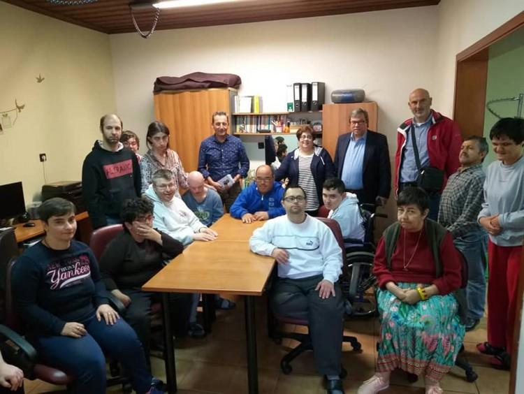 Ο Υποψηφίος Δήμαρχος κύριος Μαρκούλης Αντώνης επισκέφθηκε χθες το Κέντρο Μέριμνας και γνωστοποίησε στην Πρόεδρο τις προτάσεις και τις απόψεις του.
